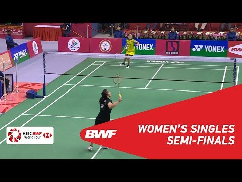 SF | WS | Ruselli HARTAWAN (INA) vs Saina NEHWAL (IND) [2] | BWF 2018