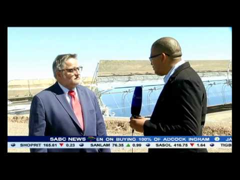 SA's first thermal solar plant, the KaXu Solar One has started