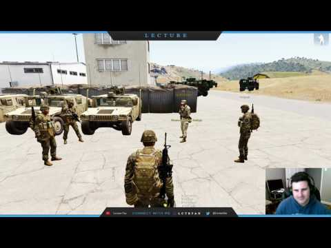 ITB Day 3 - Land Navigation in Arma 3 Military Simulation