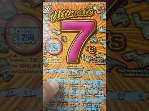 Repeat Mega cash huge winner boom boom California lottery