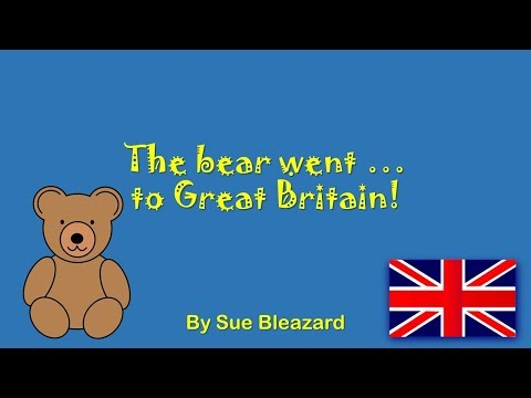 The bear went to Great Britain!