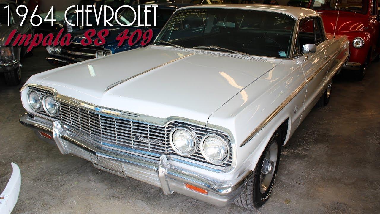 1964 Chevrolet Impala Ss 409 V8 Four Speed Disc Brakes Air