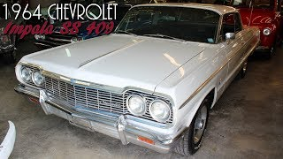 1964 Chevrolet Impala SS 409 V8 Four-speed, Disc Brakes, Air