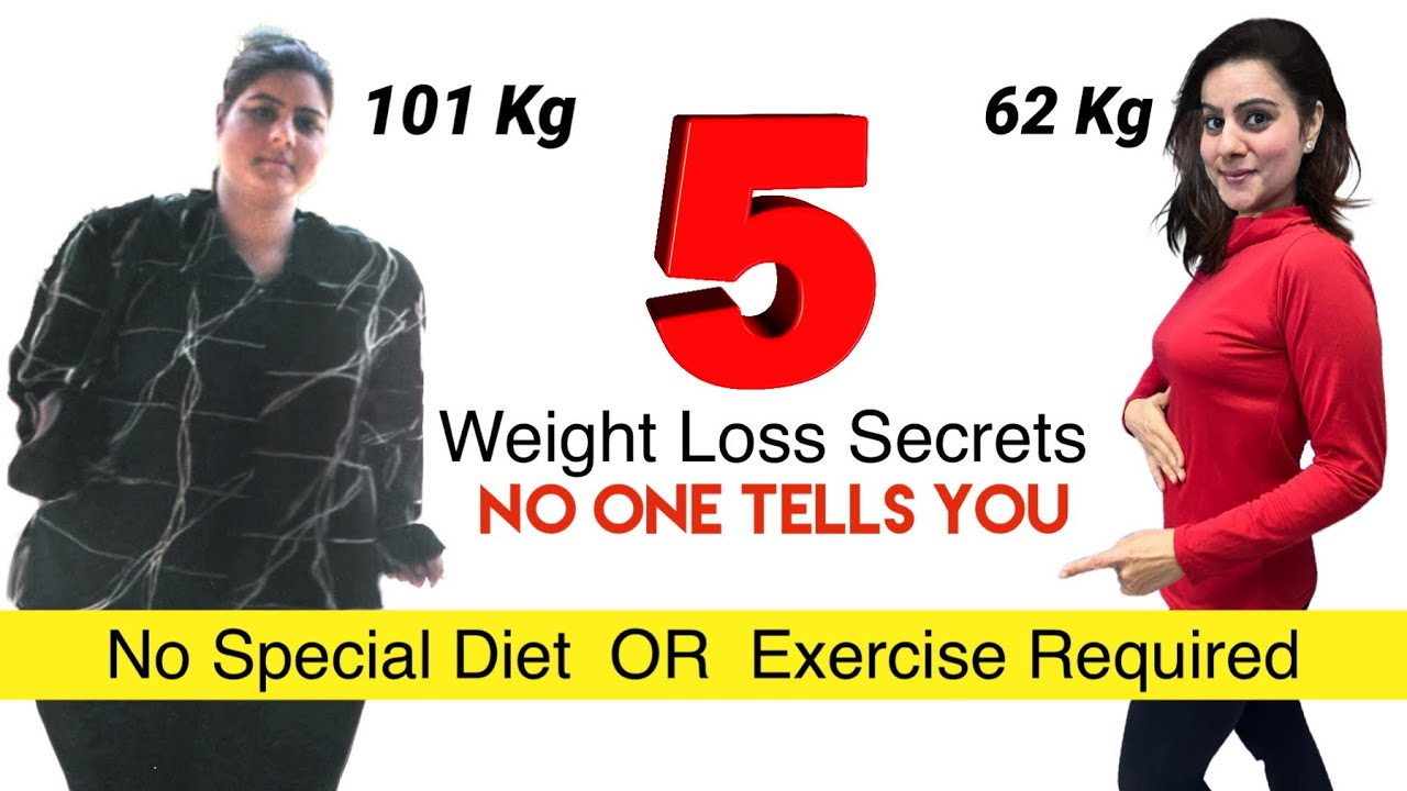 My 5 Secret Weight Loss Tips For Extreme Weight Loss REVEALED   How To Lose Weight Fast Motivation