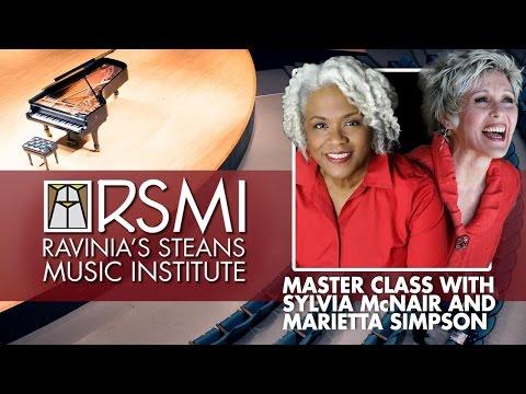 RSMI Masterclass with Sylvia McNair and Marietta Simpson