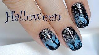 видео Маникюр на Хэллоуин, урок дизайна ногтей