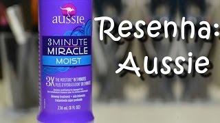 RESENHA: Aussie Shampoo e Aussie 3 Minutes Miracle Moist (É BOM?) | BrunaTV