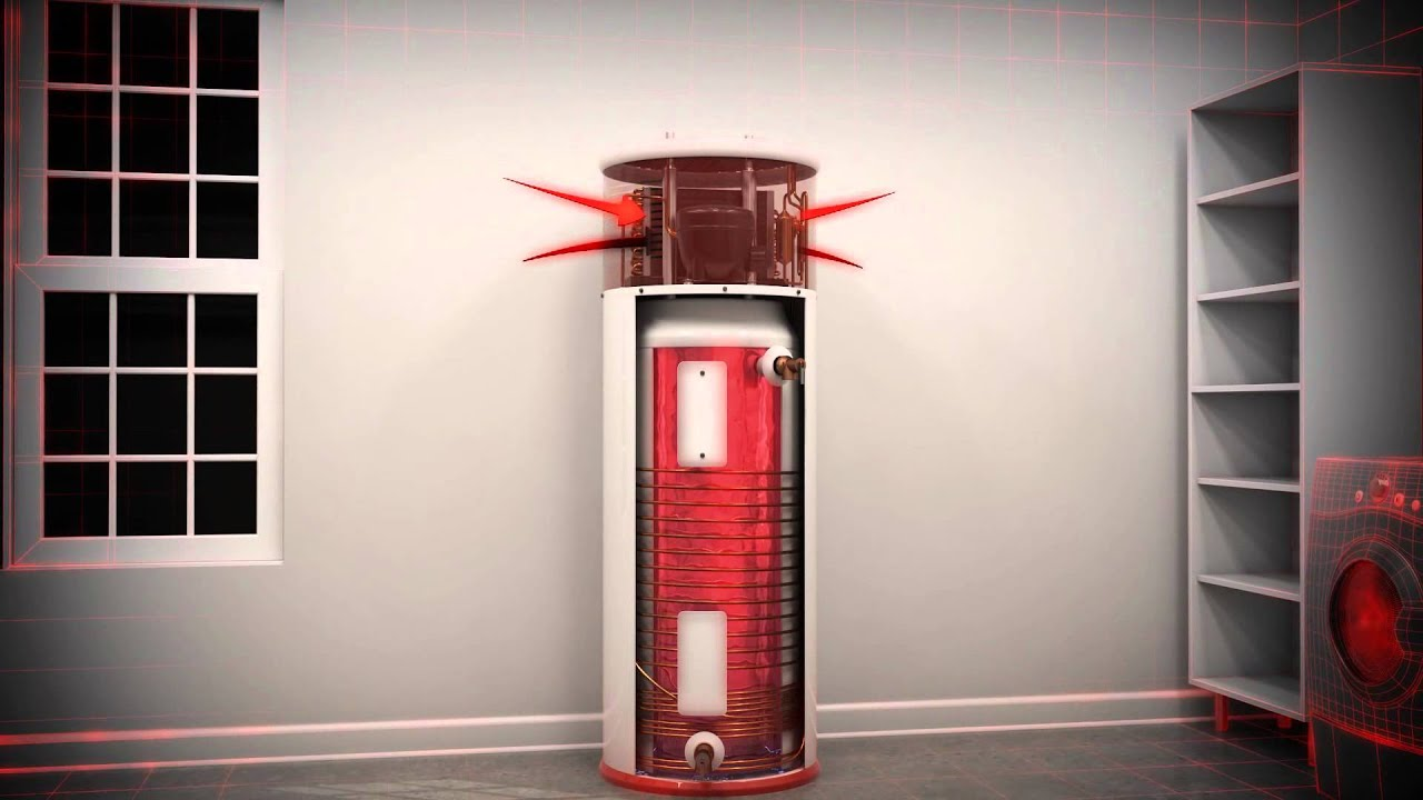 How A Heat Pump Water Heater Works
