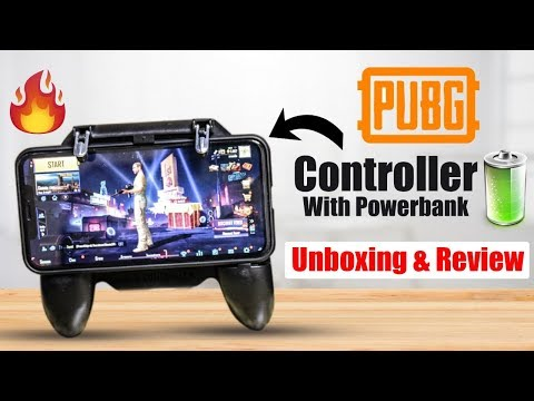 Pubg Mobile Controller With Fan & Power Bank | Unboxing | Aroon Kumar