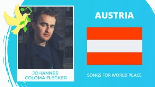 Austria🇦🇹 - Johannes Coloma-Flecker - Denn Dieser Tag - Songs for World Peace 2020
