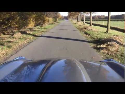 300 bhp Jaguar E-type 4.2 Litre full HD video with spectacular engine sounds