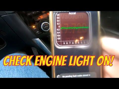 Reading A Check Engine Light In Sue's Mazda CX5  P011a