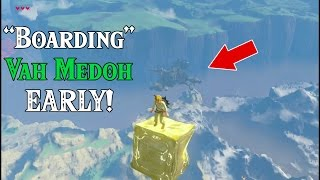 """Boarding"" Medoh EARLY! Flying Machine in Zelda breath of the wild (Viewers Request)"