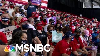 Trump Holds Indoor Rally In Arizona; Crowd Told To Wear Mask At Key Moment   Morning Joe   MSNBC