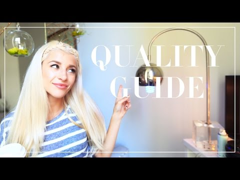 How To Shop For High Quality Clothes | Fabric Guide