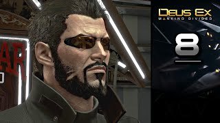 Deus Ex Mankind Divided Gameplay Walkthrough Part 8 covers Side Mission SM02 Cult of Personality on PC PS4 Xbox One Stealth gameplay no
