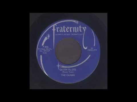 The Cajuns - Cajun Blues - Rockabilly Instrumental 45