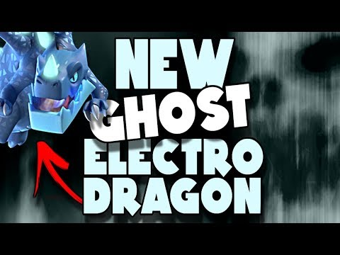 NEW Ghost Electro Dragon Attack with Crunch   Clash of Clans