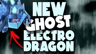 NEW Ghost Electro Dragon Attack with Crunch | Clash of Clans
