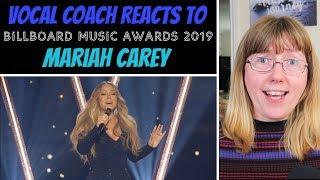 Vocal Coach Reacts Mariah Carey - A No No/Medley Of Hits (Billboard Music Awards 2019)