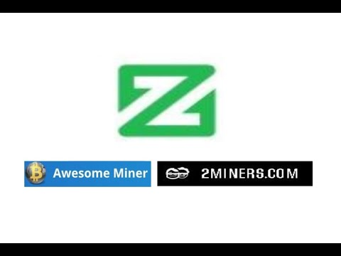 HOW TO SOLO MINE ZCOIN WITH AWESOME MINER.    via @YouTube  @zcoinofficial #xzc ... 1