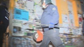 Berlin: Polizei stürmt Haus in der Rigaer Straße