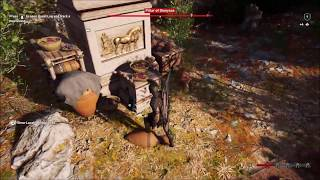 Assassins Creed Odyssey Early Game Ancient Tablet Location - Rare Ship Upgrade Resource