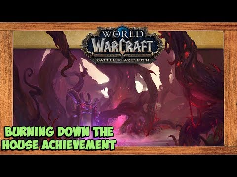 World of Warcraft Burning Down the House Achievement Solo (Glory of the Legion Hero Solo)