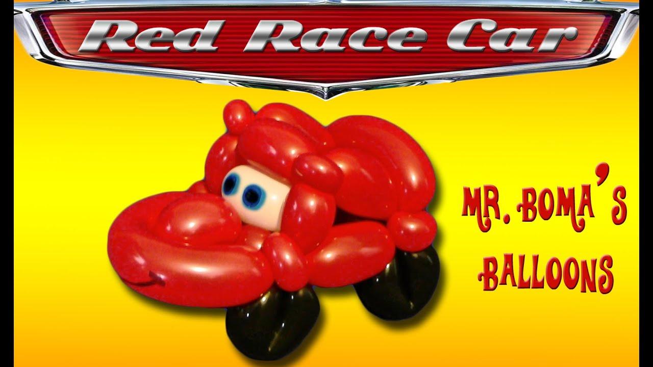 Balloon Race Car