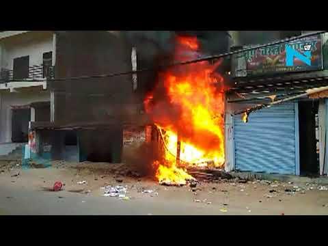 Allahabad में लगी भीषण आग, एक ही परिवार के 3 लोगों की मौत