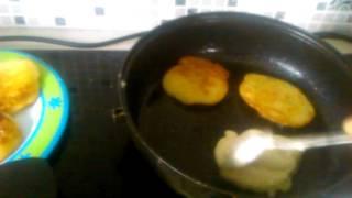 как приготовить оладьи на воде
