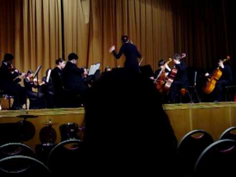 GCM Concert Orchestra playing Mantras by Richard Meyers