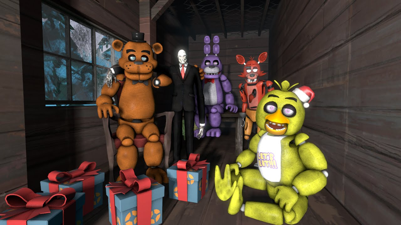 Five Nights at Freddys Christmas! - YouTube