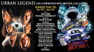 URBAN LEGEND (1998) - Live Commentary w/Director, Cast & Crew
