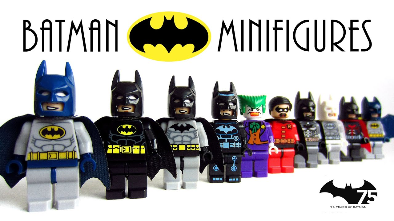 LEGO Batman The Dark Knight KnockOff Minifigures with ...