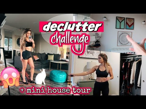 DECLUTTER & GET ORGANIZED CHALLENGE  MINI UPDATED HOUSE TOUR