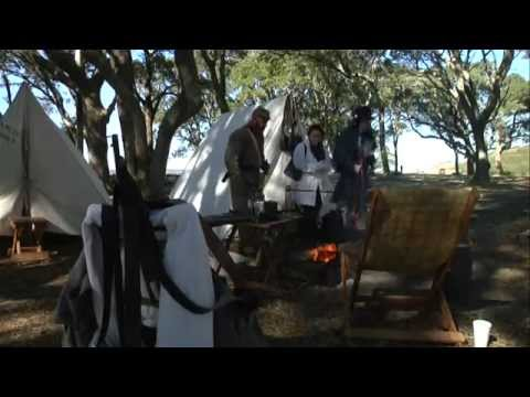 Living History At Fort Fisher