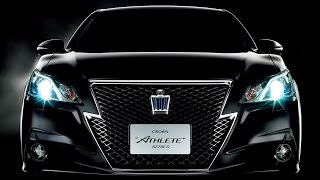 Обзор Toyota Crown Athlete G 2013 (s210)