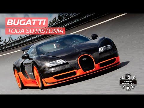 Historia de Bugatti, la mecánica hecha arte