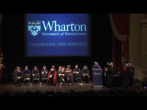 Wharton MBA for Executives, San Francisco, Graduation Ceremony 2012