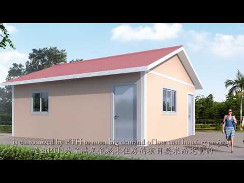 Easy-fast install  prefab prefabricated economical house