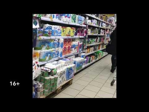 Неадекватный покупатель в магазине