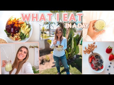 WHAT I EAT IN A DAY! Healthy Breakfast, Lunch, & Dinner Recipes + How to Start Eating Healthy