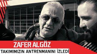 Beşiktaşlı Sanatçı Zafer Algöz Takımımızın Antrenmanını İzledi | Beşiktaş JK