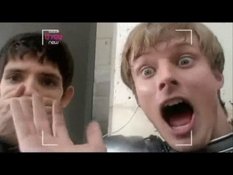 Best of Bradley James and the cast of Merlin Part 2