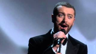 Sam Smith performing Writing's On The Wall @ The Oscars 2016 Video