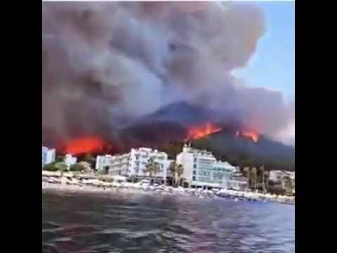 Türkiye'de çıkarılan yangınlar hepimizi üzüyor..