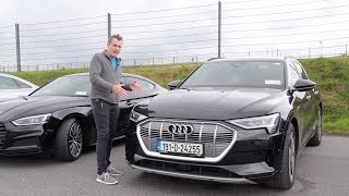 Audi E-Tron first drive | Luxury electric car from Germany