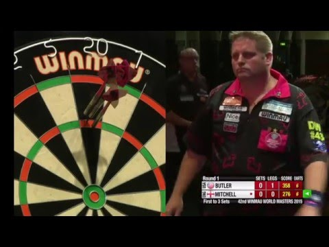 Darts World Masters 2015 Last 32 Mitchell vs Butler