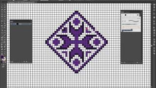 Рисуем узоры в Adobe Illustrator.Draw the patterns in Adobe Illustrator.